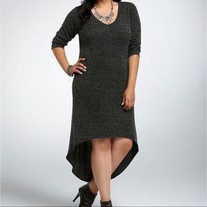 NWT TORRID Hi-Low Knit Dress 1X 16
